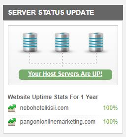pangoni uptime stats
