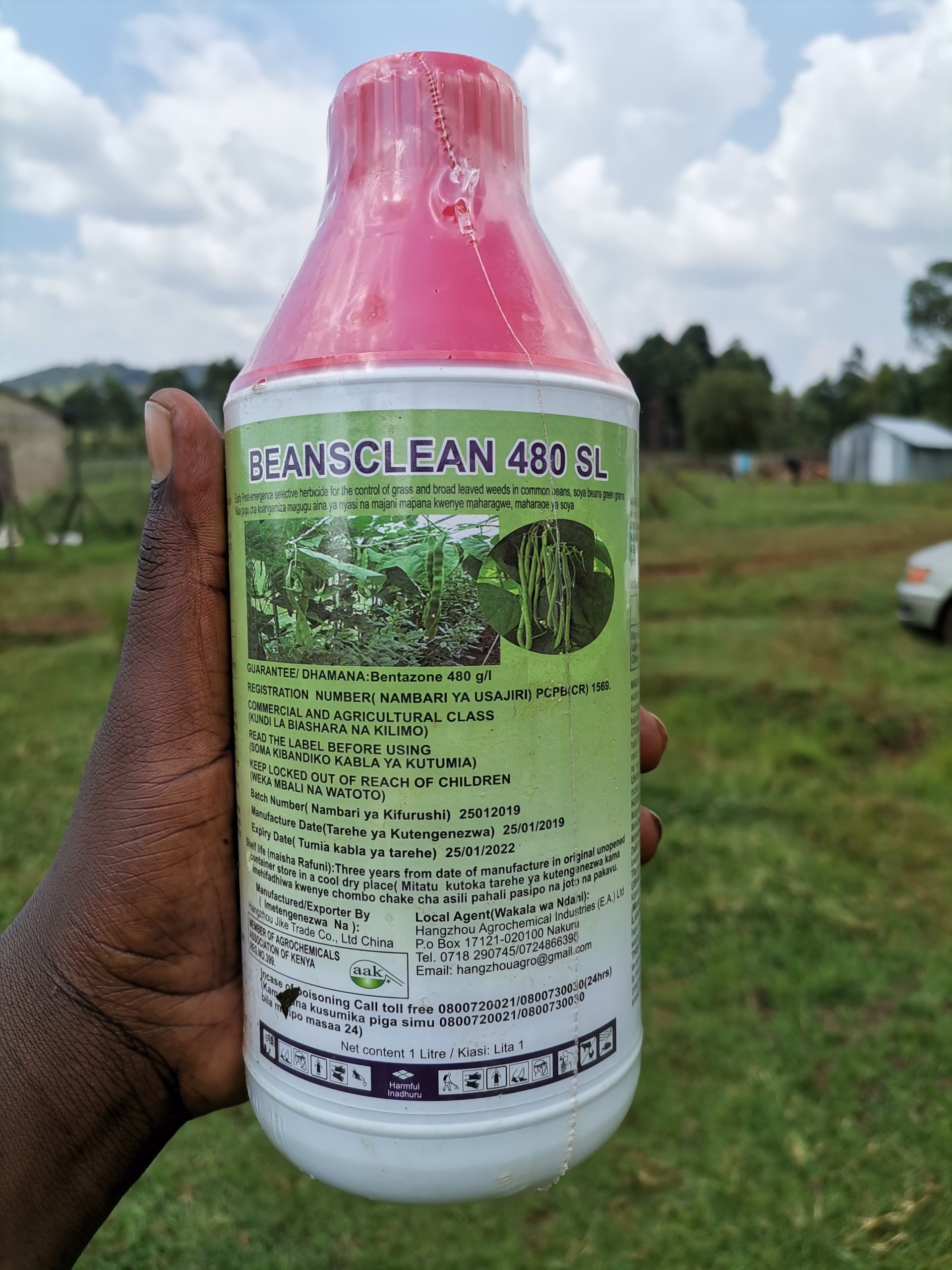 BEANSCLEAN herbicide for beans