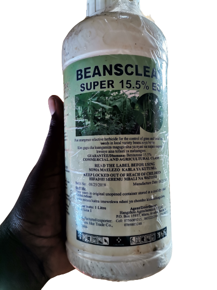 Beansclean is highly effective against all manner of broadleaf weeds in beans