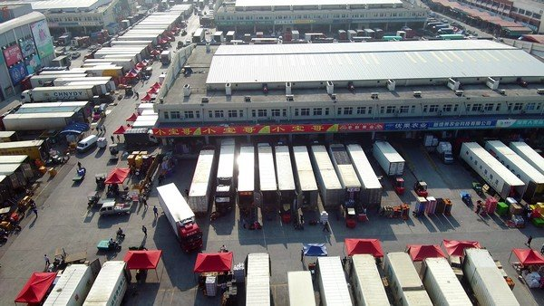 Amazing transformation in the fruit wholesale market in China